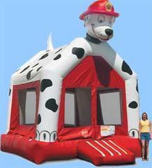 Dalmatian / Fire Dog Bounce