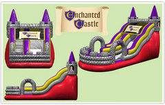 Enchanted Castle Dry Slide