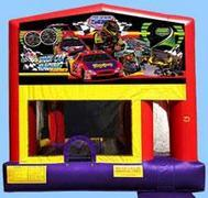 Stock Car 4-in-1 Bounce