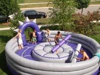 Round Pedestal Joust Inflatable