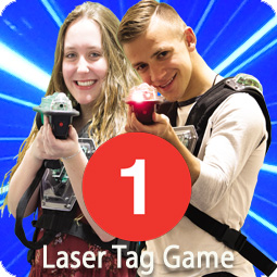 1 game of laser tag