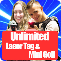 unlimited laser tag package