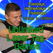 Unlimited Laser Tag