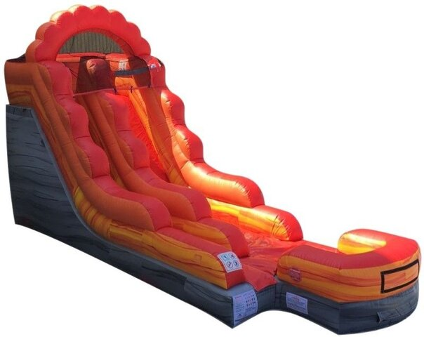 16' Volcano Water Slide (Wet/Dry)