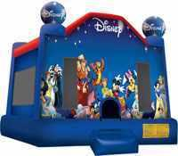 Disney Bounce House w. Basketball Hoop