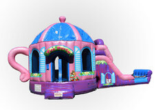 NEW ITEM!!! Biggest Little Tea Cup Bouncer/ Slide Combo (WET/DRY)