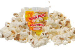 Popcorn premixed packets (80z)