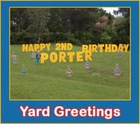 Yard Greetings
