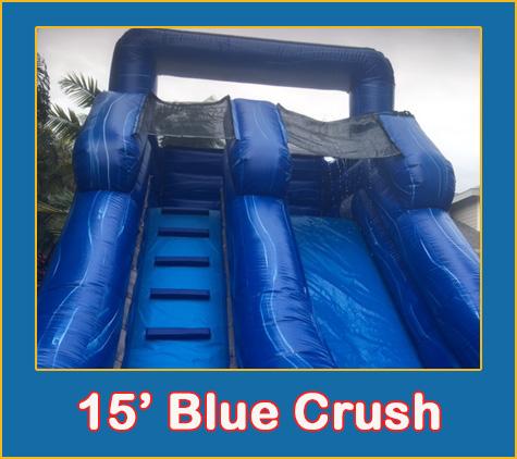 Blue Crush Water Slide Rental Sarasota Bradenton
