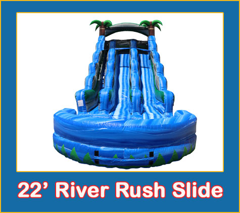 Lakewood Ranch Water Slide Rentals by Lets Jump Events