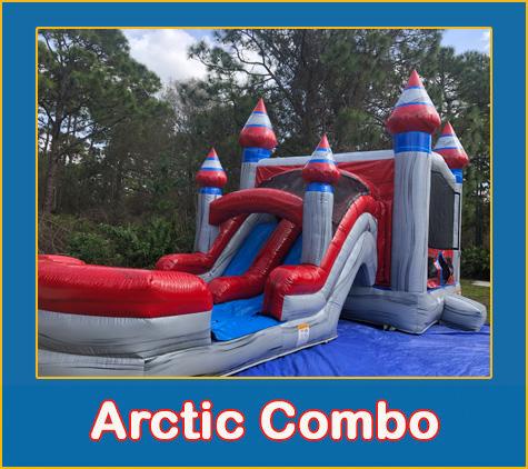 Arctic Bounce House Combo Rental Sarasota Bradenton Parrish Palmetto Rentals
