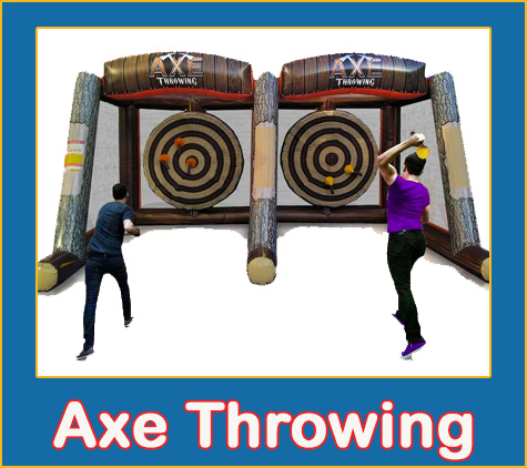 Axe Throwing Rental from Lets Jump Events