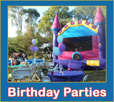 College And University Party Rentals by Lets Jump Events