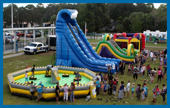 Tampa Bounce House Rentals by Lets Jump Events