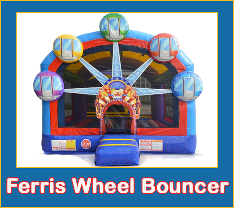 Bradenton Bounce House Rentals Ferris Wheel Bouncer Lets Jump Events