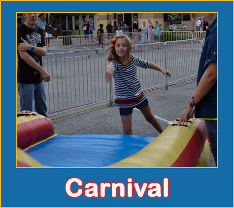Company Picnic Party Rentals by Lets Jump Events