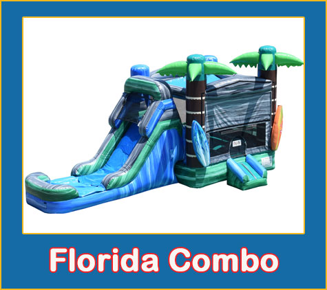Florida Combo Bounce House Rental from Lets Jump Events