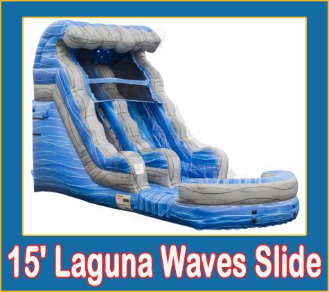 Laguna Waves Water Slide Rental Sarasota Bradenton
