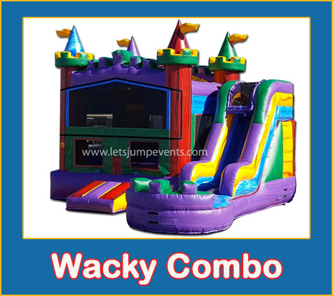 Marble Combo Bounce House Rental from Lets Jump Events