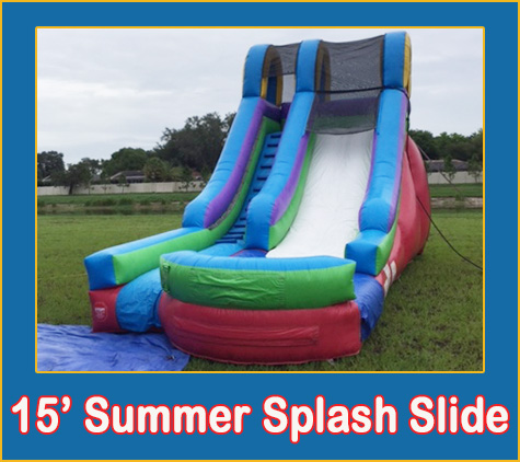 Brandon Water Slide Rentals