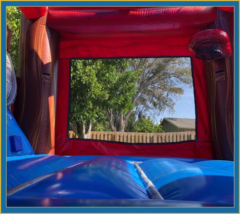 Pirate Combo Bounce House Water Slide Rental Bradenton Sarasota