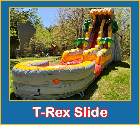 T-Rex Water Slide Rental Sarasota Bradenton
