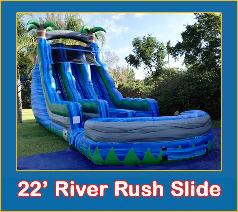 Water Slide Rentals Tampa by Lets Jump Events