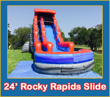 Inflatable Water Slide Rentals In Brandon FL