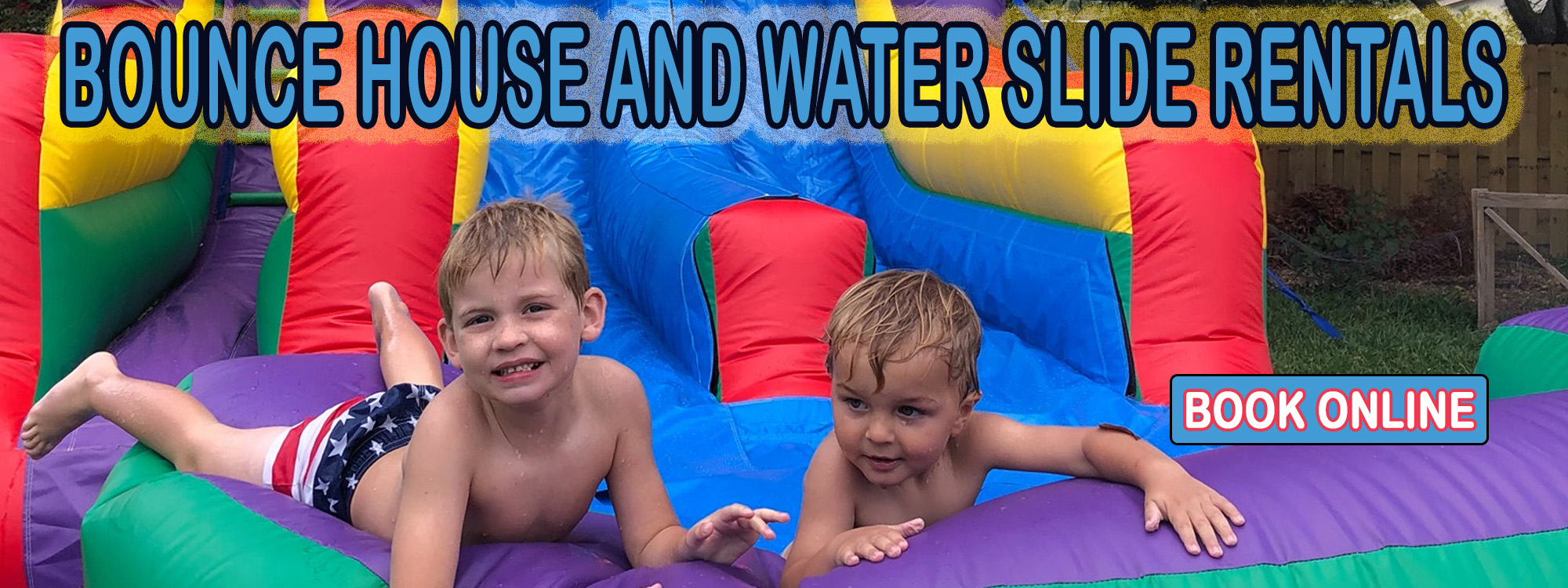 Bounce House Water Slide Rentals in Sarasota and Bradenton from LEts Jump Events