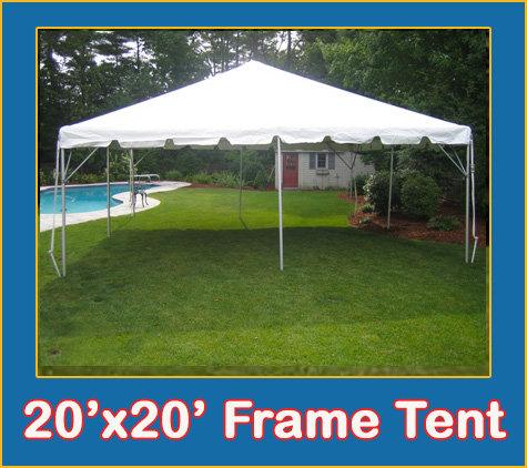 20' x 20' Frame Tent