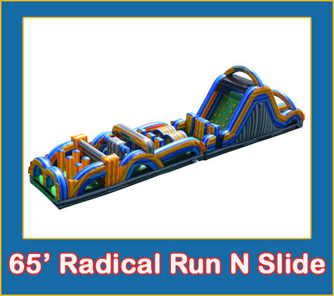 65' Radical Run N Slide