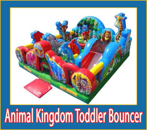 Animal Kingdom Toddler Bouncer
