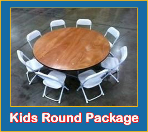 Children's Table and Chairs Package