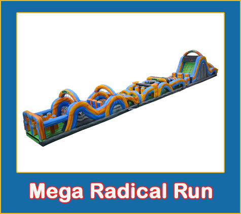 100' Mega Radical Run N Slide