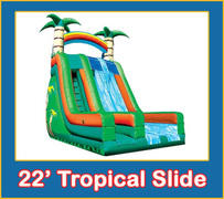 22' Tropical Dry 2 Lane Slide Dry