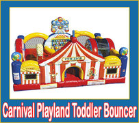 Carnival Playland Toddler Bouncer