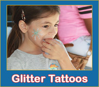 Glitter Body Tattoos