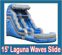 15' Laguna Waves Slide