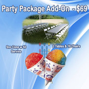The Party Package Add On
