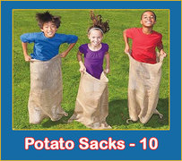 10 Potato Sacks
