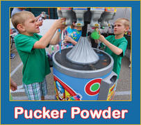Pucker Powder Machine - 12 Flavors