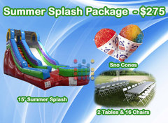 The Summer Splash Package