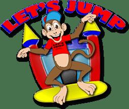 Let S Jump Rentals Logo