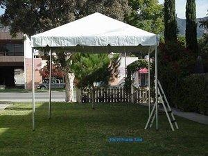 10 x 10 Frame Tents