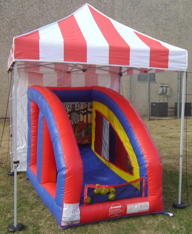 Carnival Ball Toss with Tent