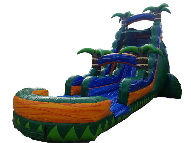 22ft Emerald Falls Water Slide