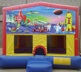 Space Panel Bounce House