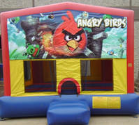 Birds Panel Bounce House