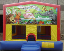 Birthday Panel Bounce House