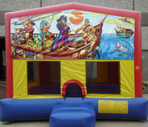 Pirate Panel Bounce House